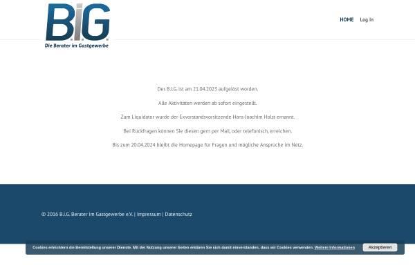 Vorschau von berater-im-gastgewerbe.de, Berater im Gastgewerbe B.I.G. e.V.
