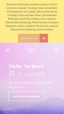 Vorschau der mobilen Webseite fcgwi.de, Royal Rangers Stammposten 34