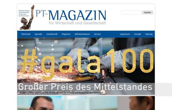 Vorschau von www.pt-magazin.de, P.T. Magazin