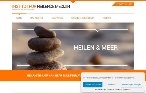 Vorschau von www.heilende-medizin.de, Institut für Heilende Medizin