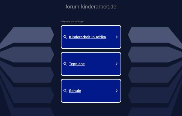 Vorschau von www.forum-kinderarbeit.de, Deutsches NRO-Forum Kinderarbeit