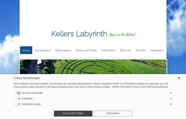 Vorschau von www.kellers-labyrinth.de, Kellers Labyrinth