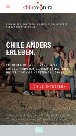 Vorschau der mobilen Webseite www.chileventura.de, ChileVentura