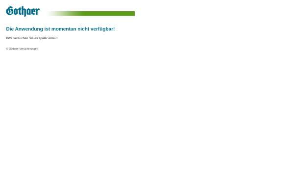 Vorschau von www.gothaer-asset-management.de, Die Gothaer Asset Management AG