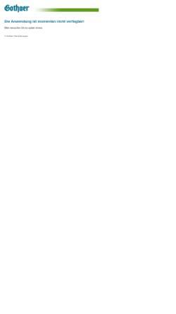 Vorschau der mobilen Webseite www.gothaer-asset-management.de, Die Gothaer Asset Management AG