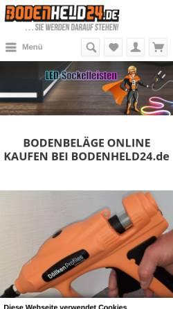Vorschau der mobilen Webseite www.wohnstore-shop.de, wohnstore kiessling gmbh