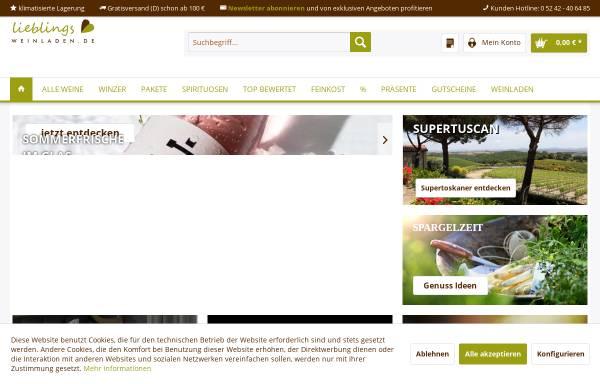 Vorschau von www.proseccoundwein.com, Wein im FachWerk