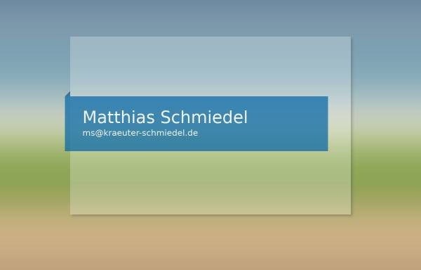 Vorschau von www.schmiedel-gewuerze.de, Schmiedel-Gewürze