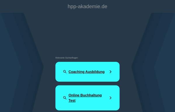 Vorschau von www.hpp-akademie.de, Heilpraktikerschule HPP-Akademie