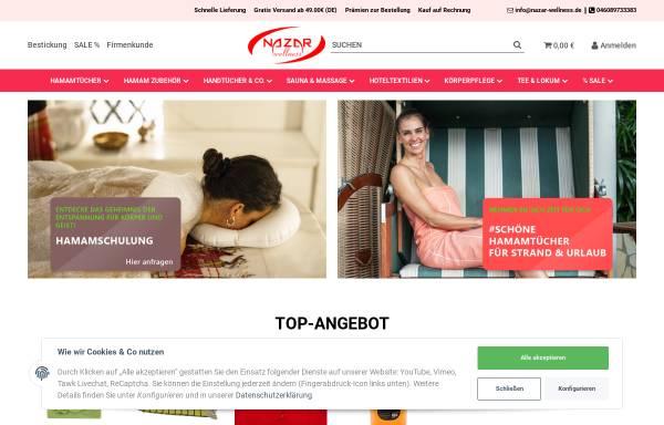 Vorschau von nazar-wellness.de, Nazar Wellness, Ismayil Dogu