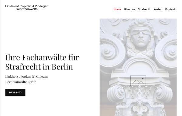 Vorschau von www.strafverteidiger-berlin.info, Linkhorst Popken & Koll.