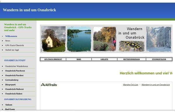 Vorschau von wanderungenimosnabrueckerland.npage.de, Wandern in und um Osnabrück