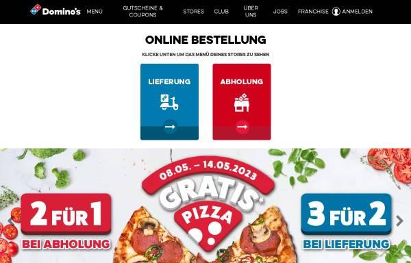 Vorschau von www.dominos.de, Domino's Pizza
