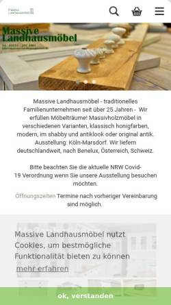 Massive Landhausmöbel BW E.K. 50858 Köln Massive Landhausmöbel BW E.K.
