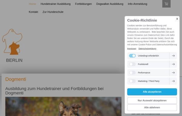 Vorschau von www.dogmenti.de, Dogmenti