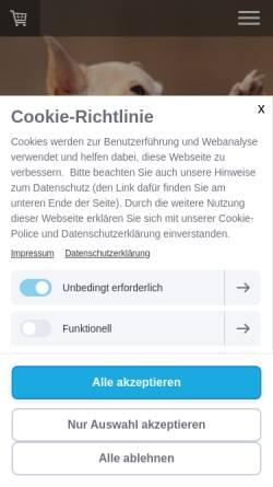 Vorschau der mobilen Webseite www.dogmenti.de, Dogmenti
