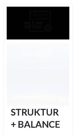 Vorschau der mobilen Webseite www.galerie-liebau.de, Galerie Liebau