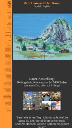 Vorschau der mobilen Webseite retolanz.ch, Lanzendörfer, Reto