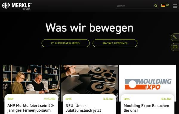 Vorschau von de.ahp.de, AHP Merkle GmBH