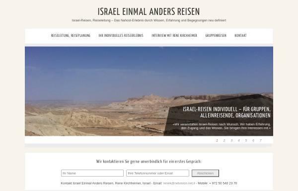 Vorschau von israel-einmal-anders.com, Israel Einmal Anders