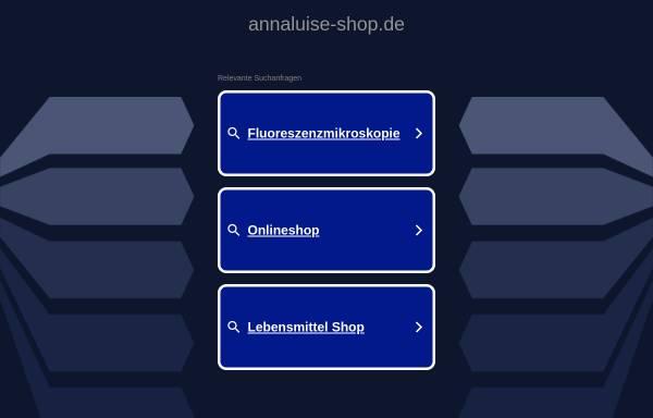 Vorschau von www.annaluise-shop.de, anna luise - Erlesene Aromen des Orients