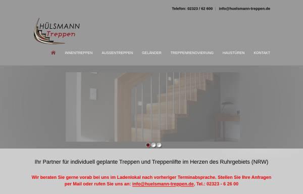 Vorschau von www.huelsmann-treppen.de, Hülsmann Treppen