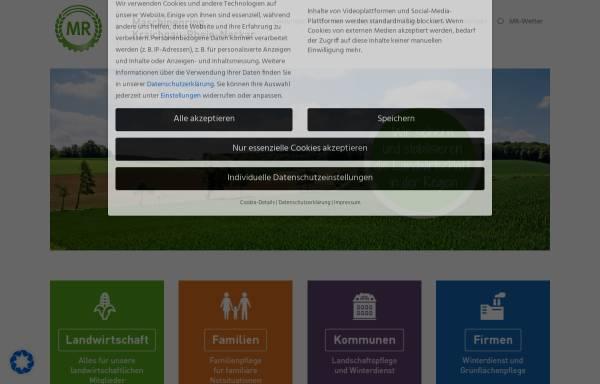 Vorschau von www.mr-kraichgau.de, Maschinenring und Betriebshilfsdienst Kraichgau e. V.
