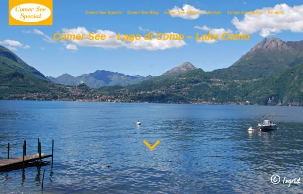 Vorschau von www.comersee-special.de, Comer See Special