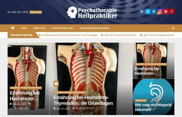 Vorschau von www.vistano-psychologie.de, Vistano