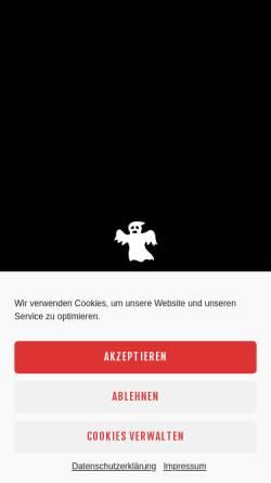 Vorschau der mobilen Webseite www.stuttgarter-geister.de, Stuttgarter Geister - Unheimlich schöne Stadtgeschichte
