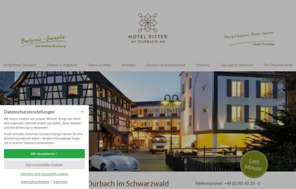 Vorschau von www.ritter-durbach.de, 4* Wellness-Hotel Ritter im Schwarzwald
