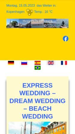Vorschau der mobilen Webseite www.heiratsagentur-karina.eu, Heiratsagentur Karina