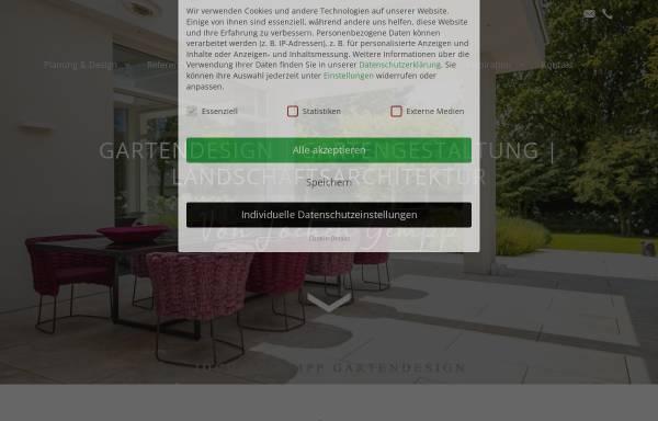 Vorschau von www.gundb-gartendesign.de, G&B Gartendesign