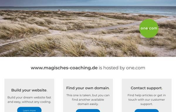 Vorschau von www.magisches-coaching.de, Dana Goetze, Effizientes Paarcoaching zu Hause mit viel Zeit
