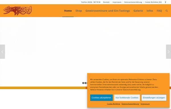 Vorschau von www.safran-gewuerzbasar.de, Safran Rodenkirchener Gewürzbasar