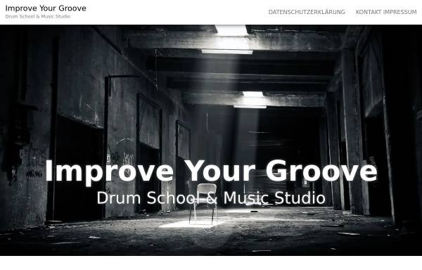 Vorschau von improve-your-groove.de, Drum School & Keyboard Studio Merzig