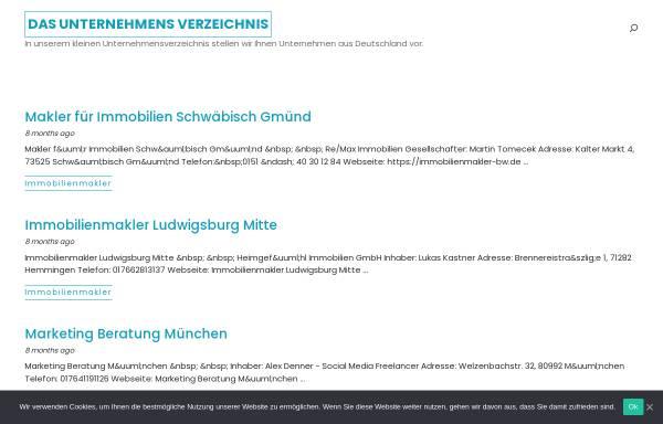 Vorschau von www.thom-kuv.de, THOM Kreditausfall- und Vermögenssicherung