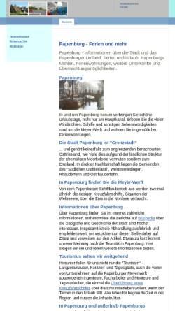 Vorschau der mobilen Webseite www.in-papenburg.de, In Papenburg
