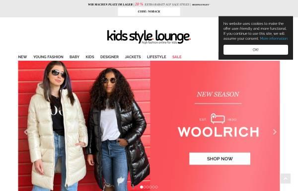 Vorschau von www.kids-style-lounge.de, Kids Style Lounge