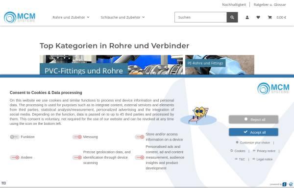 Vorschau von www.mcm-systeme.de, MCM-Systeme GbR