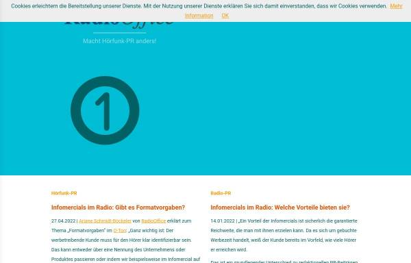 Vorschau von www.radio-office.de, RadioOffice GmbH