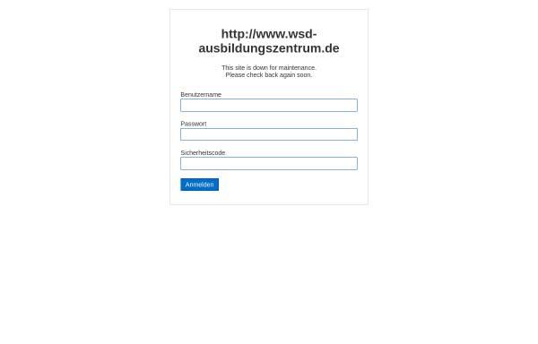 Vorschau von www.wsd-ausbildungszentrum.de, WSD Ausbildungszentrum: Fernlehrgang Burnout-PräventionsCoach