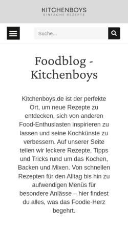 Vorschau der mobilen Webseite www.kochschule-rheinauhafen.de, Kochschule Rheinauhafen