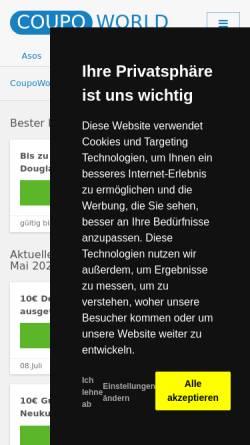 Vorschau der mobilen Webseite www.nagelzeile.de, Nagelzeile