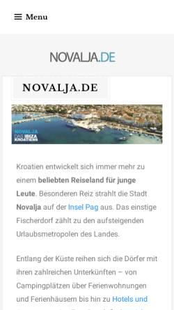Vorschau der mobilen Webseite www.abireise.de, Individuelle Abifahrten von JAM! Reisen