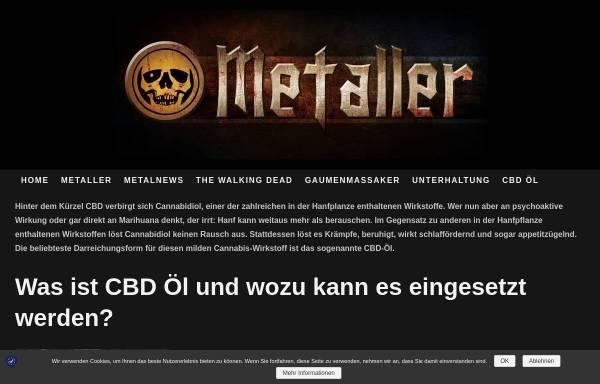 Vorschau von www.metal-roses-blog.de, Metal Roses Blog
