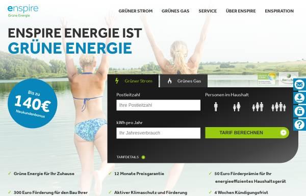 Vorschau von www.enspire-energie.de, Enspire Energie