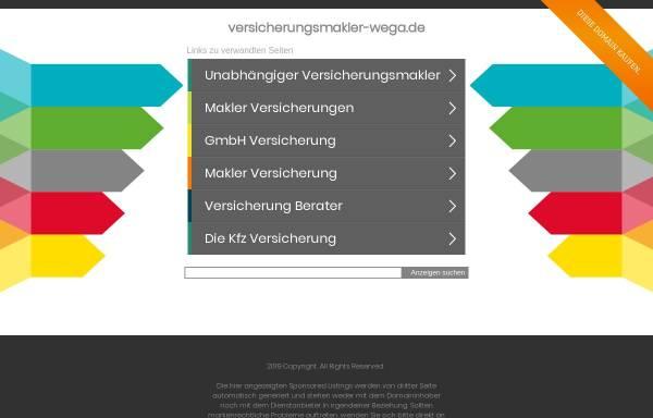 Vorschau von www.versicherungsmakler-wega.de, WEGA Finanz- & Versicherungsmakler, Eduard Wegner