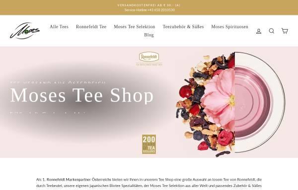 Vorschau von tee-shop.at, Moses Tee Shop