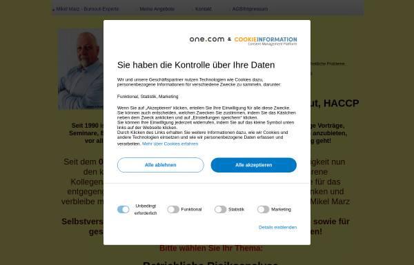 Vorschau von www.mikelmarz.com, Mikel Marz